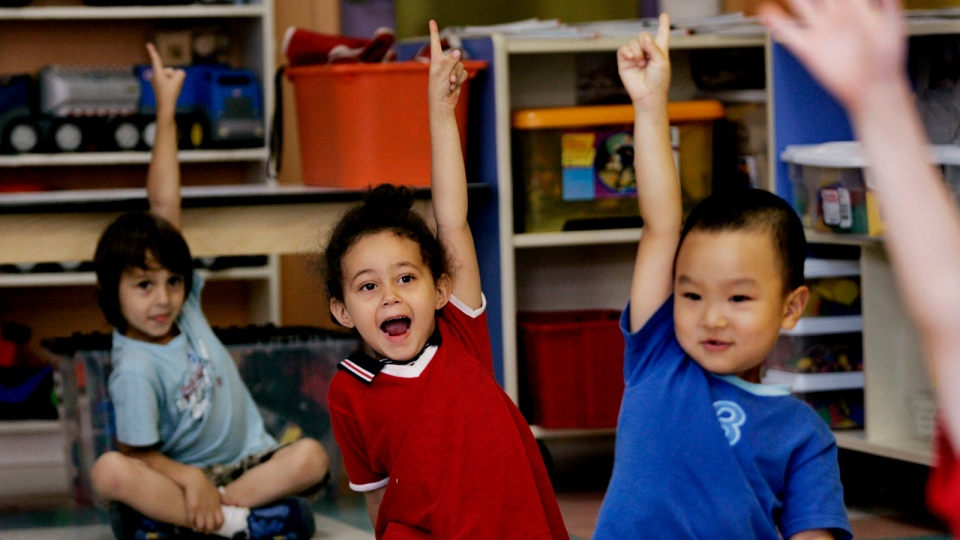 Nearly half of Canadian kids live in 'child care deserts'